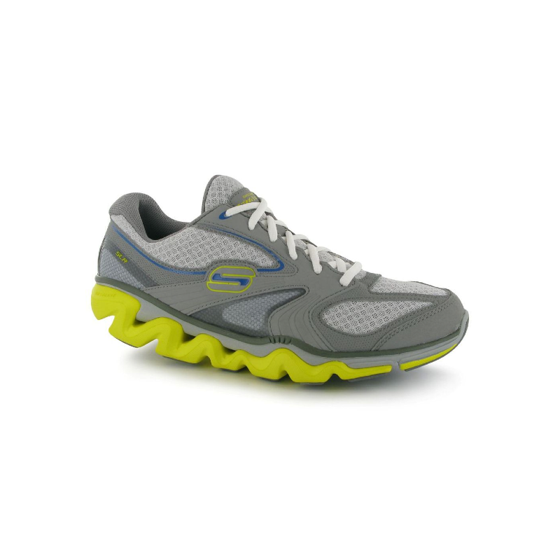 Skechers Shape Ups Scarpe Running Uomo grigio/giallo