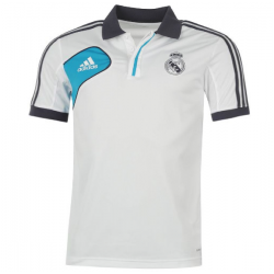 adidas Polo Real Madrid Uomo bianco