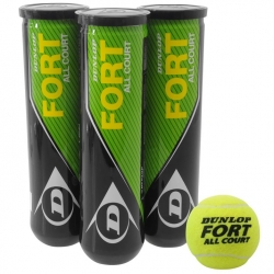 Dunlop Palline Tennis Fort All Court (3 TUBI)