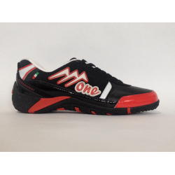 Agla ONE Scarpe Calcetto Indoor Black/Red