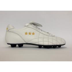 Pantofola d'Oro Scarpe Calcio DEL DUCA  FG Vitello Bianco