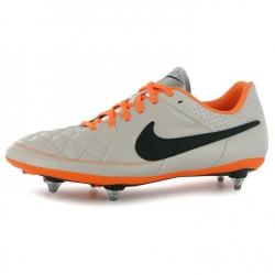 Nike Scarpe Calcio Tiempo V Genio SG Uomo Sand/Blk/Orange
