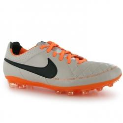 Nike Scarpe Calcio Tiempo V Legacy AG Uomo Sand/Blk/Orange