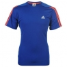 adidas Response T-Shirt Uomo Maniche Corte blue/rosso