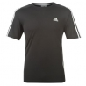adidas Response T-Shirt Uomo Maniche Corte nero/bianco