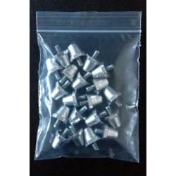 MincioSport Tacchetti Alluminio 14 mm confezione 20 pz