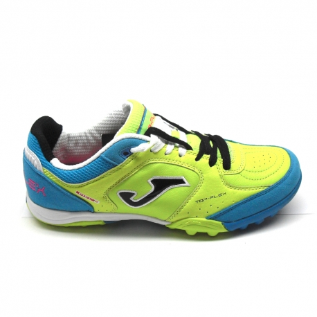 newest fdf6b 8d557 Joma Scarpe Calcetto TOP FLEX 511 Outdoor Uomo Lemon/Blue