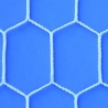 LaRete Coppia Rete Calcetto 2x3 Maglia Esagonale 4mm Bianco