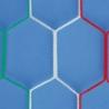 LaRete Coppia Rete Calcetto 2x3 Maglia Esagonale 4mm Tricolore