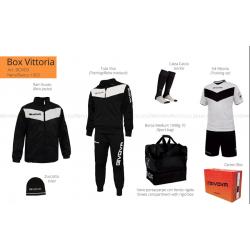Givova BOX VITTORIA Nero/Bianco