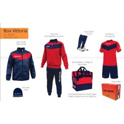 Givova BOX VITTORIA Rosso/Blu