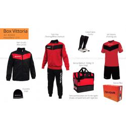 Givova BOX VITTORIA Rosso/Nero