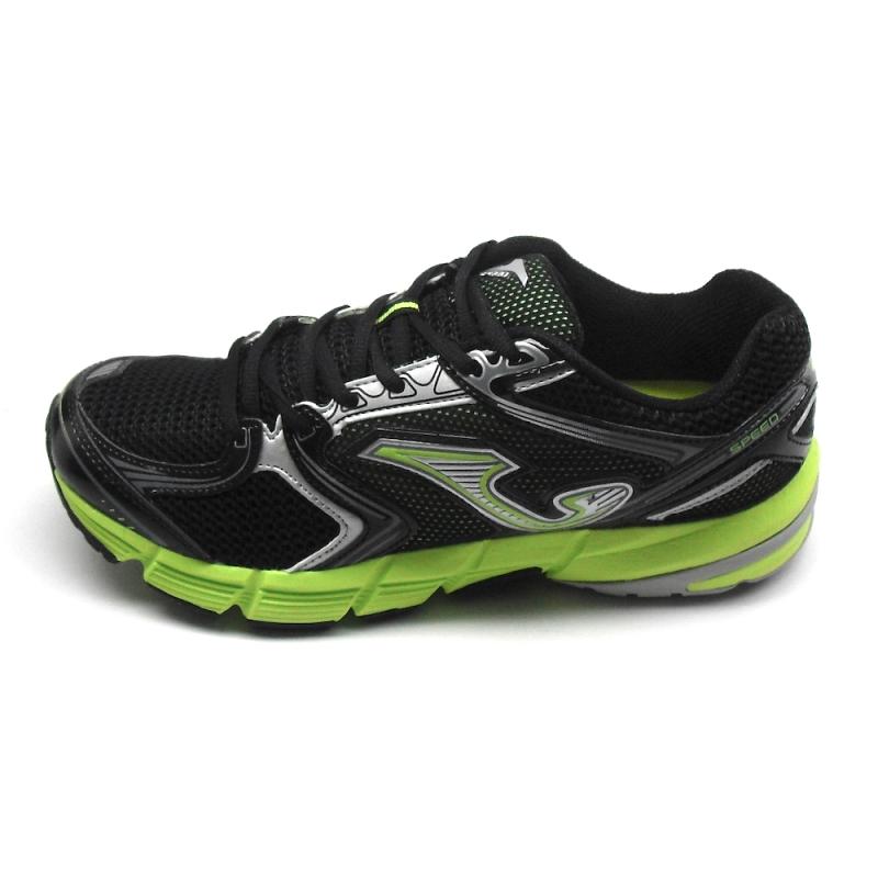 sneakers for cheap 6487a d29e6 Joma Scarpe Running R.SPEED 411 Uomo Nero/Fluo