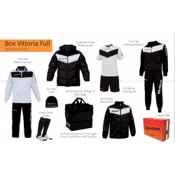 Givova BOX VITTORIA FULL Bianco/Nero