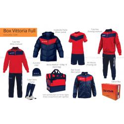 Givova BOX VITTORIA FULL Rosso/Blu