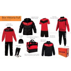 Givova BOX VITTORIA FULL Rosso/Nero