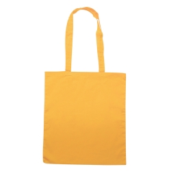 Borsa Shopping in Cotone Q24210 Giallo (Conf. 10 pezzi)