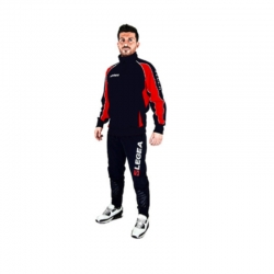 Legea Tuta Training EGITTO Uomo-Donna Blu/Rosso