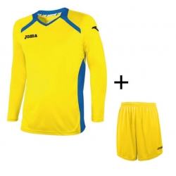 Joma Completo Gara CHAMPION II ML REAL Uomo Giallo/Royal/Giallol