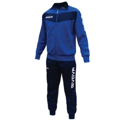 Givova Tuta Training VISA Uomo Azzurro/Blu