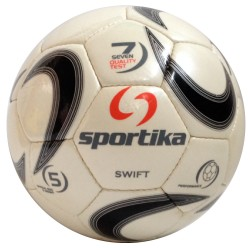 Sportika Pallone Calcio SWIFT N.5 Bianco/Nero