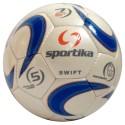 Sportika Pallone Calcio SWIFT N.5 Bianco/Azzurro