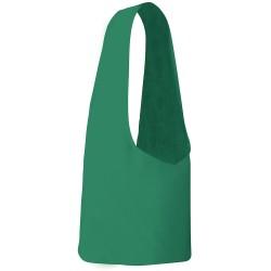 Tracolla in cotone verde 24066