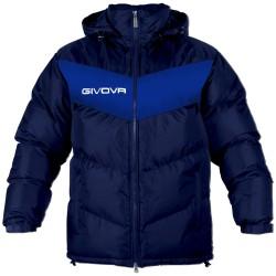 Givova G009 Giubbotto PODIO Uomo Blu/Azzurro