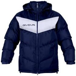 Givova G009 Giubbotto PODIO Uomo Blu/Bianco