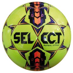 Select Pallone Calcetto ATTACK RC Giallo/Viola