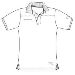 Sportika Polo VENICE Uomo Bianco