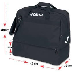 Joma Borsa TRAINING III Media Nero