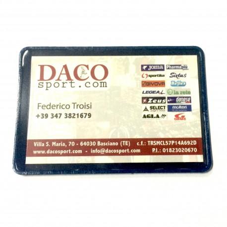 Porta Card/Badge Apertura Lato Corto