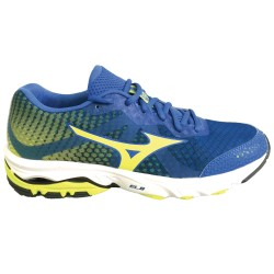 Mizuno Scarpe Running WAVE ELEVATION Uomo PalaceBlue/SafetyYellow
