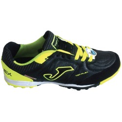 Joma Scarpe Calcetto TOP FLEX 601 Outdoor Uomo Black/Fluor