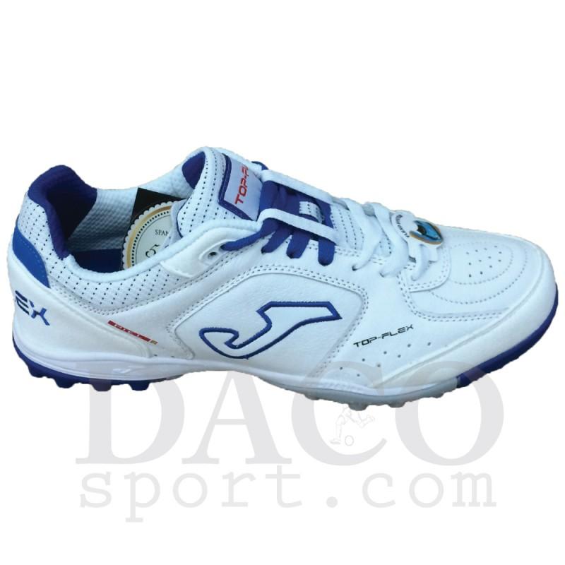 Joma Scarpe Calcetto TOP FLEX 602 Outdoor Uomo White Royal 75af25604a777