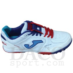 Joma Scarpe Calcetto TOP FLEX 402 Outdoor Uomo White/Royal