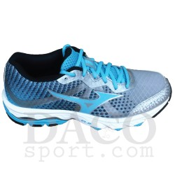 Mizuno Scarpe Running WAVE ELEVATION Donna Silver/BlueAtoll/Black
