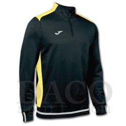 Joma Felpa CAMPUS II Uomo Black/Yellow