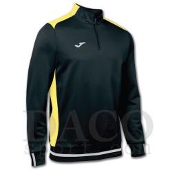 Joma Felpa CAMPUS II Uomo Black/Yellow