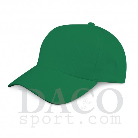 Cappellino Golf 5 Pannelli Verde