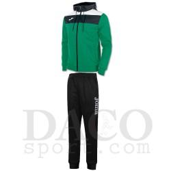 Joma Tuta CREW Cappuccio Uomo Verde/Bianco/Nero