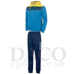 Joma Tuta CREW Cappuccio Uomo Azzurro/Giallo/Blu