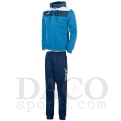 Joma Tuta CREW Cappuccio Uomo Azzurro/Bianco/Blu