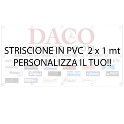 Striscione in PVC 2x1 mt Personalizzato