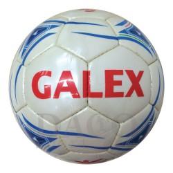 Galex Pallone Calcio STADIO n.5 Bianco/Azzurro