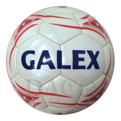 Galex Pallone Calcio STADIO n.5 Bianco/Rosso
