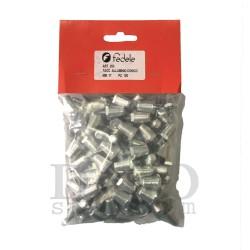 MincioSport Tacchetti Alluminio 17 mm (Conf. 100 pz)
