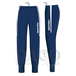 Sportika Pantalone BREMA Uomo Blu/Bianco