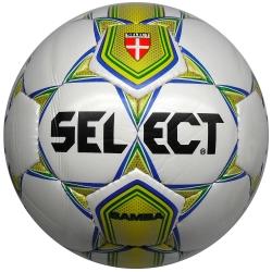 Select Pallone Calcetto SAMBA n.4 Bianco/Giallo